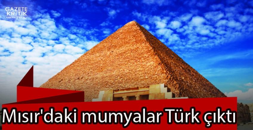 Mısır'daki mumyalar Türk çıktı
